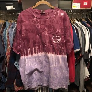 Comfort colors tie-dye shirt